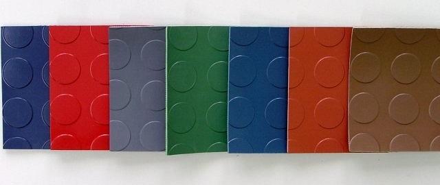 kolorowe wykładziny gumowe do windy, kolorowe maty gumowe do windy, kolorowa guma do windy